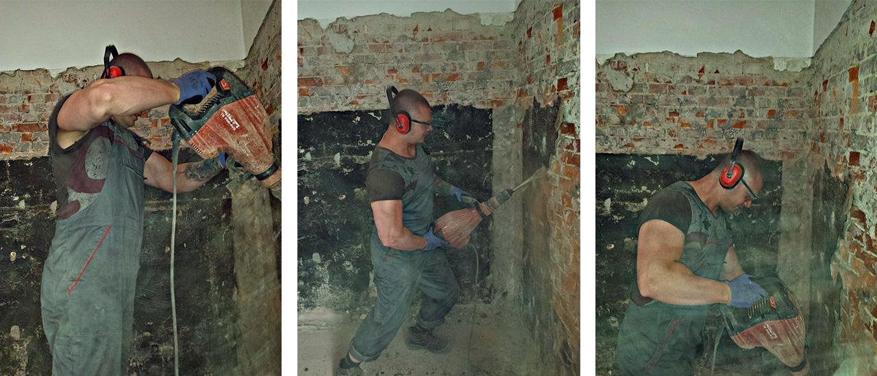 Nos professionnels de la démolition en action