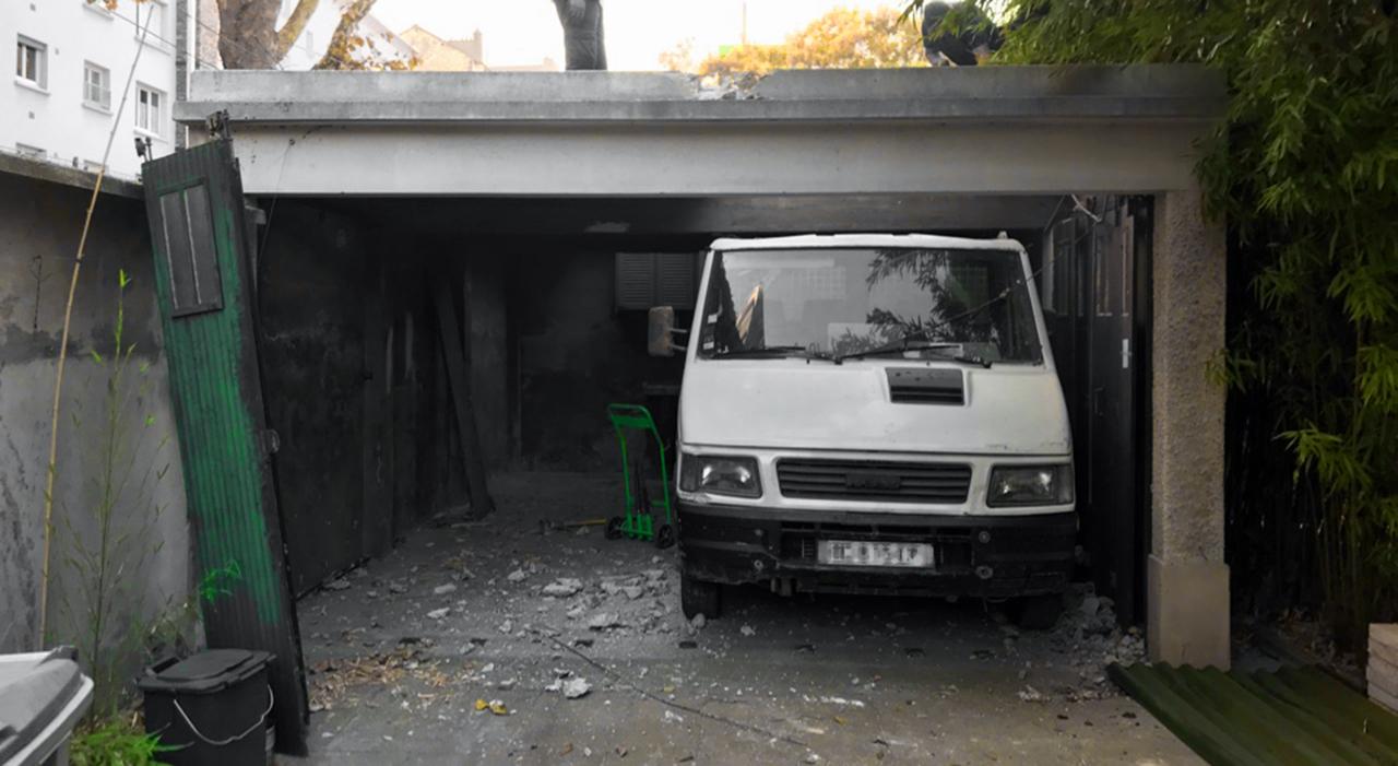 Démolition de garage en région parisienn